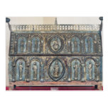 Reliquary chest of St. Viance, Limousin School Post Card