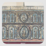 Reliquary chest of St. Viance, Limousin School Square Stickers