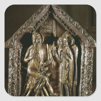 Reliquary chest of the sons of St. Sigismund Square Sticker