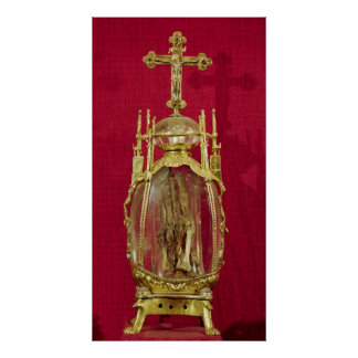 Reliquary containing the hand of St. Attalia Poster