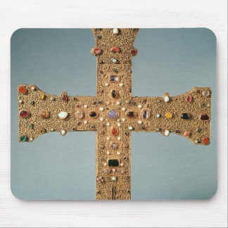 Reliquary cross of the Abbey of Valesse Mouse Pad