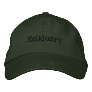 Reliquary embroidered hat