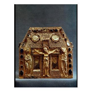 Reliquary of Pepin I  King of Aquitaine Postcard
