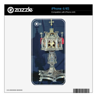 Reliquary of St. Barbara, 14th-15th century (silve iPhone 4S Decal