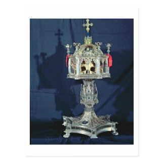 Reliquary of St. Barbara, 14th-15th century (silve Postcard