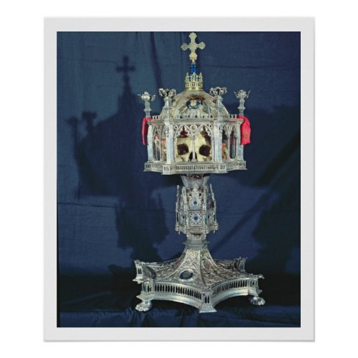 Reliquary of St. Barbara, 14th-15th century (silve Posters