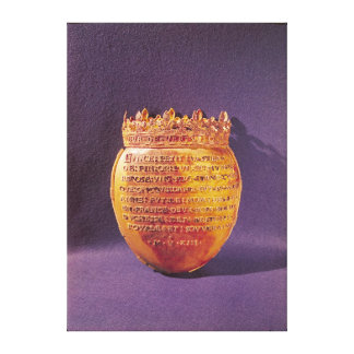 Reliquary of the Heart of Anne of Brittany Canvas Print