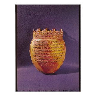 Reliquary of the Heart of Anne of Brittany Poster