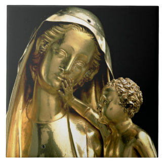 Reliquary of the Virgin of Jeanne d'Evreux, 1339 ( Ceramic Tile