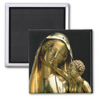 Reliquary of the Virgin of Jeanne d'Evreux, 1339 ( Magnet