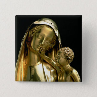 Reliquary of the Virgin of Jeanne d'Evreux, 1339 ( Pinback Button
