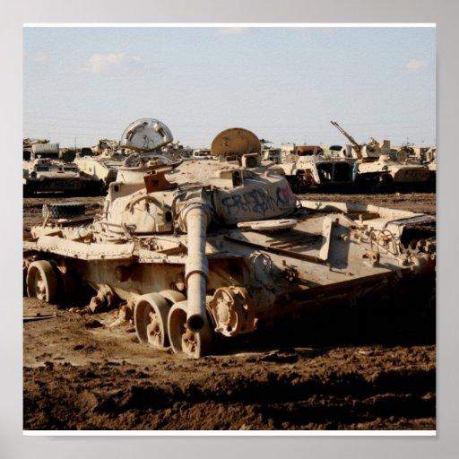 Reliquia de la guerra, Taji, Iraq Póster