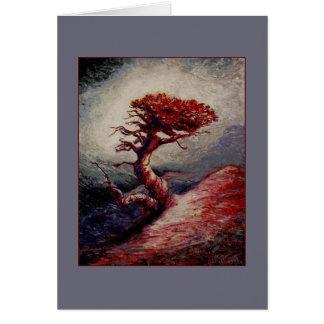 Reliquia de la montaña tarjeta de felicitación