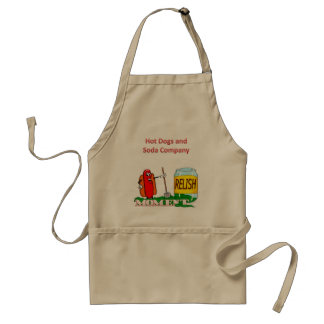 Relish the moment aprons