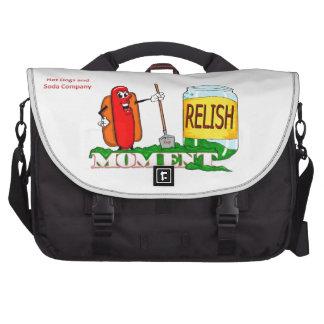 Relish the moment computer bag