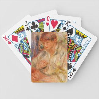 Rellenado de Pedro-Auguste Renoir- Claude Renoir Cartas De Juego