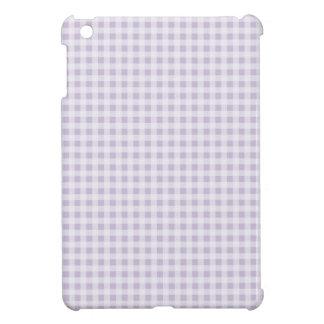 relleno el mini modelo púrpura de la guinga iPad mini funda