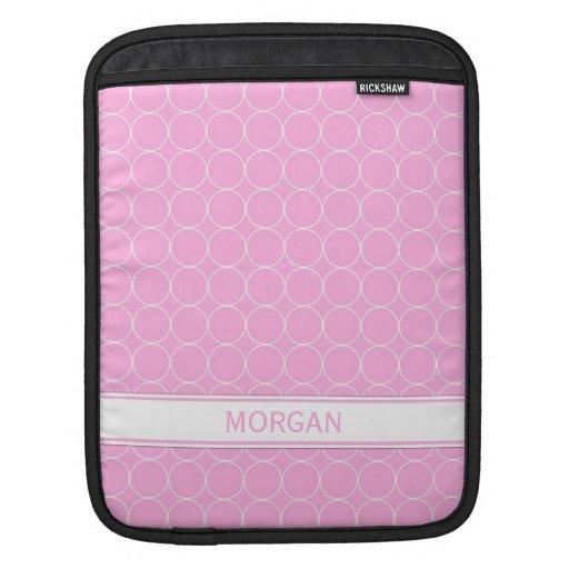 relleno el modelo blanco rosado conocido de encarg funda para iPads
