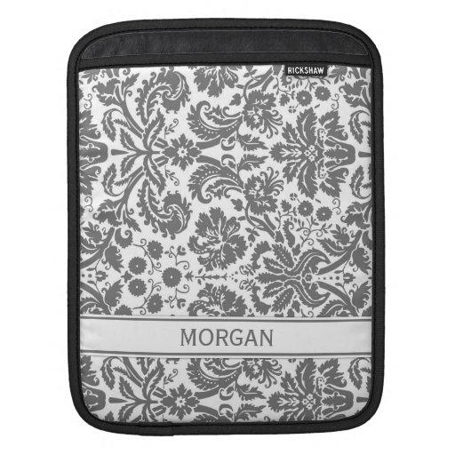 relleno el modelo floral gris conocido de encargo  fundas para iPads