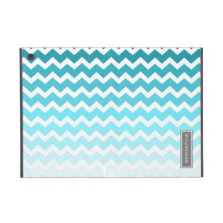relleno nombre azul del personalizado de Ombre Che iPad Mini Cárcasa