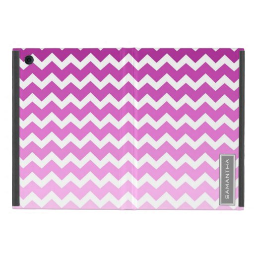 relleno nombre rosado del personalizado de Ombre C iPad Mini Protector