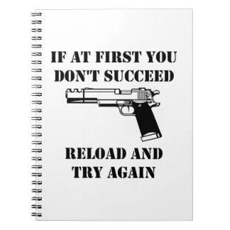 Reload Gun Notebook