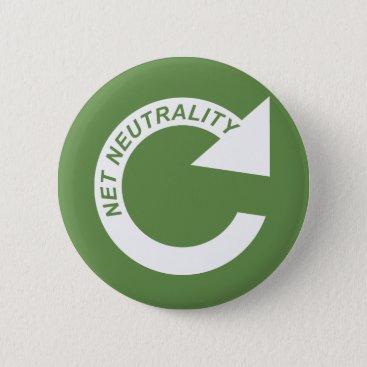 Beach Themed Reload Net Neutrality - White Button