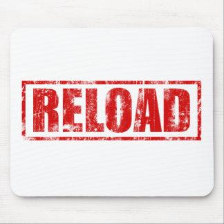 Reload! - Video Game Gamer Gaming Shoot Gun Mouse Pad