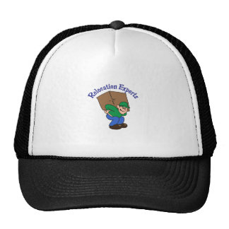 RELOCATION EXPERTS TRUCKER HAT