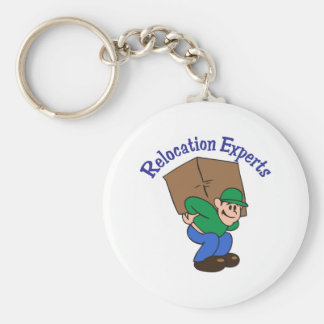 RELOCATION EXPERTS KEYCHAINS