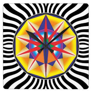 Relógio Mandala Alcance Relógio De Parede