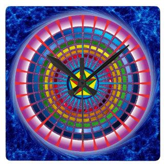 Relógio Mandala Encontro Relógio De Parede