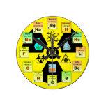 Relógio para Químicos Reloj Redondo Mediano