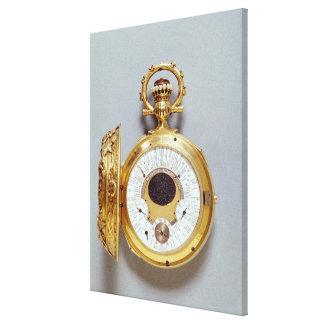 Reloj, 1897-1901 impresión de lienzo