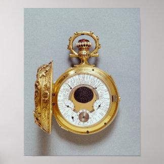 Reloj, 1897-1901 impresiones