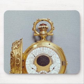 Reloj, 1897-1901 tapetes de ratón