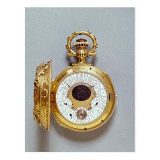 Reloj, 1897-1901 tarjeta postal