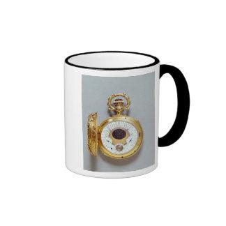 Reloj, 1897-1901 tazas de café