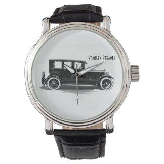 Reloj 1924 del coche del vapor de los hermanos de
