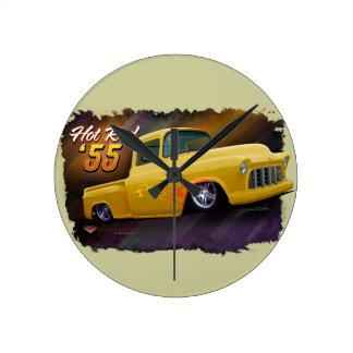 Reloj 1955 del camión de Chevy