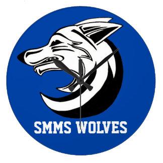 Reloj 1 de los lobos de SMMS