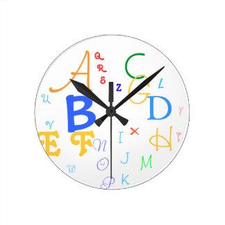 Reloj #1 del alfabeto