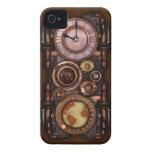 Reloj #1 del vintage de Steampunk Case-Mate iPhone 4 Carcasas