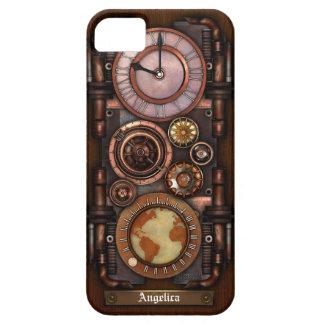 Reloj #1B del vintage de Steampunk iPhone 5 Case-Mate Cárcasa
