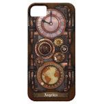 Reloj #1B del vintage de Steampunk Funda Para iPhone 5 Barely There