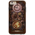 Reloj #1B del vintage de Steampunk Funda Para iPhone 6 Plus Tough