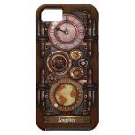 Reloj #1B del vintage de Steampunk iPhone 5 Carcasa
