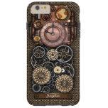 Reloj #2 Redux de Steampunk del vintage Funda De iPhone 6 Shell