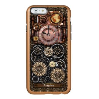 Reloj #2 Redux de Steampunk del vintage Funda Para iPhone 6 Plus Incipio Feather Shine