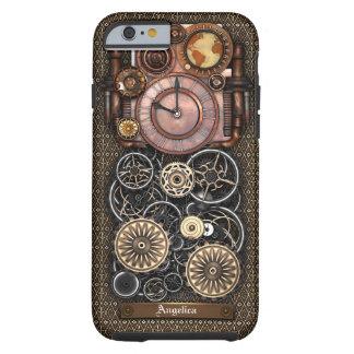 Reloj #2 Redux de Steampunk del vintage Funda Resistente iPhone 6